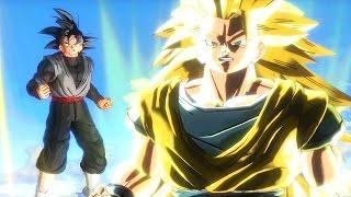 getlinkyoutube.com-Dragon Ball Xenoverse Full Movie - English All Cutscenes As Goku Black (60FPS)