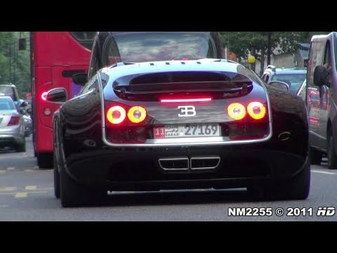 Bugatti Veyron Super Sport Sounds on the Road