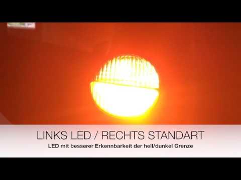 OSRAM LED 21W VS Standart 21W