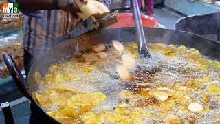 getlinkyoutube.com-BANANA CHIPS | Sanpada Station | MUMBAI STREET FOOD | 4K VIDEO | UHD VIDEO