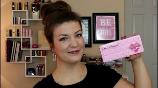 getlinkyoutube.com-Too Faced Chocolate Bon Bons Palette   Review, Swatches & Tutorial