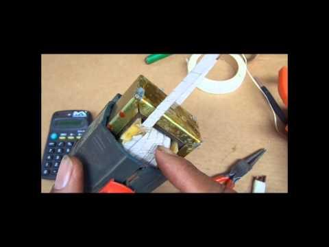 Como fazer ferro de solda com sucata de furadeira, Gun to solder wires