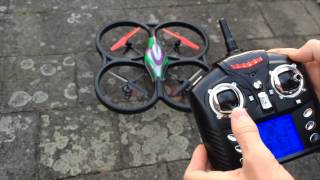 Defect quadcopter V333 Cyclone Banggood