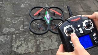 getlinkyoutube.com-Defect quadcopter V333 Cyclone Banggood