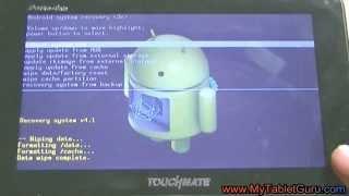 getlinkyoutube.com-Hard reset/ factory wipe Touchmate PortoTab tablet