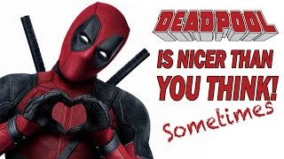 Deadpool is Nicer Than You Think | Desk of DEATH BATTLE!