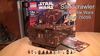 getlinkyoutube.com-Test Lego Sandcrawler (Set 75059 Star Wars Review deutsch)
