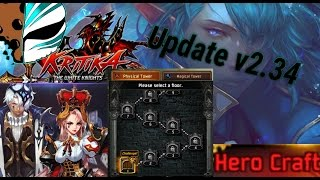 getlinkyoutube.com-Kritika: White Knight | Update v2.34 | ToT Re-build | Hero Craft |