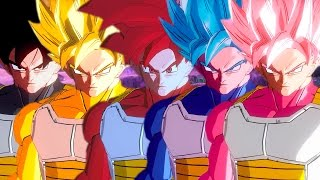 Dragon Ball Xenoverse 2 (PC): GOKU SAIYAN RANGERS [MOD]【60FPS 1080P】