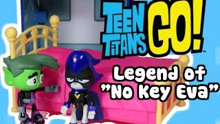 getlinkyoutube.com-TEEN TITANS GO! Parody Raven Curses Beast Boy & Cyborg w/ Ancient Curse at Teen Titans Go! T-Tower
