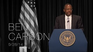 Perspectives on Leadership Forum with Dr. Ben Carson — 9/28/14