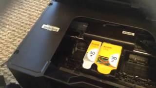 getlinkyoutube.com-Kodak Hero 5.1 Error Code 3527 Jammed Printer Carriage