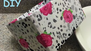getlinkyoutube.com-{DIY} Fabric Storage Boxes