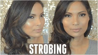 getlinkyoutube.com-STROBING Makeup Tutorial | Drugstore
