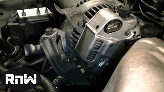 getlinkyoutube.com-How to Replace an Alternator on a 1999 Toyota Camry 2.2L Engine