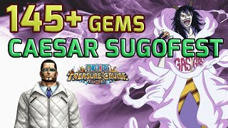 getlinkyoutube.com-145 Gem Caesar Sugofest! Vergo Rules! [One Piece Treasure Cruise]