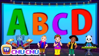 getlinkyoutube.com-ABCD Alphabet Song - Nursery Rhymes Karaoke Songs For Children | ChuChu TV Rock 'n' Roll