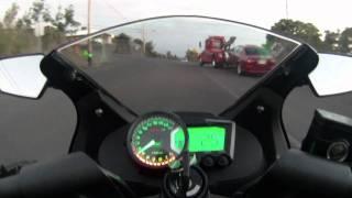 getlinkyoutube.com-Koso RX2 ninja 250r
