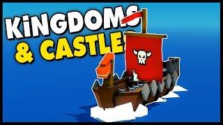 Kingdoms and Castles - VIKING INVASION! - Let's Play Kingdoms and Castles Alpha 3 Gameplay