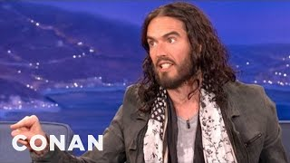getlinkyoutube.com-Russell Brand: London Will Not Rise To The Olympic Challenge - CONAN on TBS