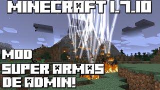 getlinkyoutube.com-Minecraft 1.7.10 MOD SUPER ARMAS DE ADMIN!