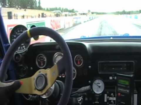 Ford Escort Cosworth MK2 In-car Alastaro Finland 2010, 8.34sec