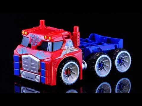 Transformers Rescue Bots Energize Optimus Prime with Trailer