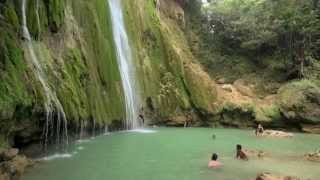 El Limón Waterfall, Samaná
