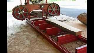getlinkyoutube.com-Homemade Band Sawmill First Version