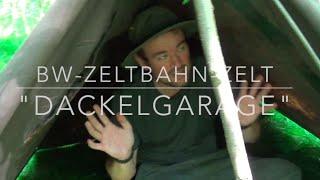 """getlinkyoutube.com-BW-Zeltbahn: Shelter, Zelt und """"Dackelgarage"""""""