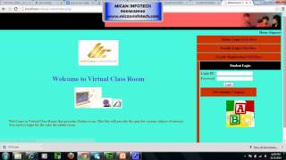VIRTUAL CLASSROOM MANAGEMENT SYSTEM - PHP
