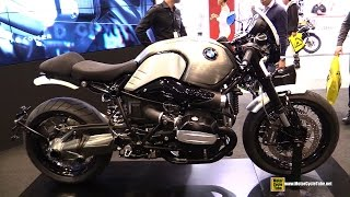 2015 BMW R Nine T by Rizoma - Walkaround - 2014 EICMA Milan Motorcycle Exhibition