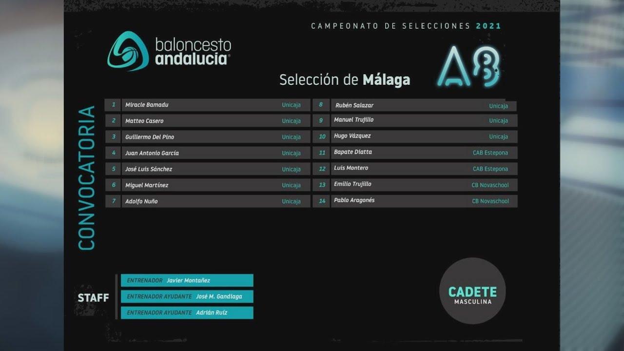 Javi Montañez dirige a la Selección malagueña cadete
