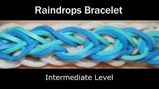 getlinkyoutube.com-Rainbow Loom® Raindrops Bracelet