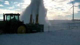 getlinkyoutube.com-Teamco Snowblast 10800A Tractor Series Snowblower