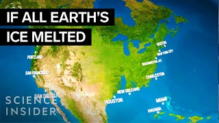 getlinkyoutube.com-What the Earth would look like if all the ice melted