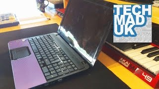 getlinkyoutube.com-Toshiba Satellite C855 C855D Full Disassembly + Screen replacement