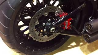 getlinkyoutube.com-Harley-Davidson FXSB Black Custom (Swiss Moto 2017)