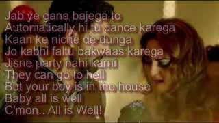 getlinkyoutube.com-Char Shanivaar Lyrics – All Is Well