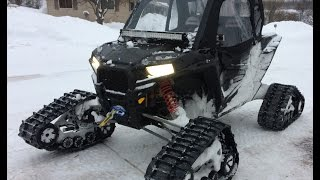 getlinkyoutube.com-Polaris Rzr XP 1000 Tracks XP 900