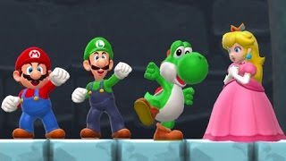 getlinkyoutube.com-Super Mario Run - All Characters Vs. Bowser (Saving Peach)