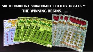 getlinkyoutube.com-South Carolina Lottery Scratch Offs The Winning Begins