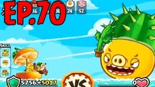 getlinkyoutube.com-Angry Birds Fight! - SUPER CACTUS PIG - PIG CACTUS (SS for BOMB) - EP70