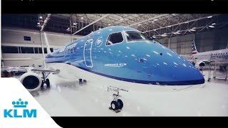 getlinkyoutube.com-KLM Cityhopper first Embraer 175