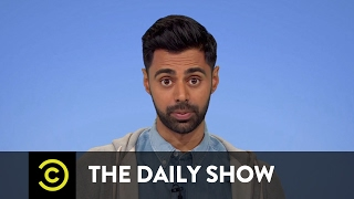 getlinkyoutube.com-Hasan the Record - President Trump's De Facto Muslim Travel Ban: The Daily Show