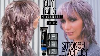 getlinkyoutube.com-Smokey Lavender Hair Color FT. Guy Tang's #MYDENTITY Color Line!!!