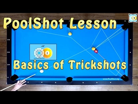 Basics of Trickshots and Skillshots - Pool & Billiard Training Lesson by PoolShot.org