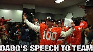 getlinkyoutube.com-Clemson Football: Dabo Swinney Rousing Locker Room Speech