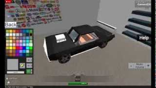 getlinkyoutube.com-Roblox:Street Racing Unleashed:Customizing a Chevrolet Camaro!