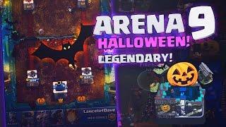getlinkyoutube.com-ARENA HALLOWEEN LEGGENDARIA SU CLASH ROYALE by DragonSteak - Arena 9 HALLOWEEN